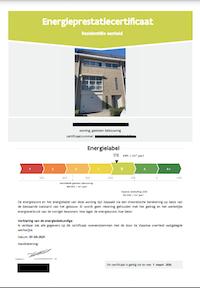 EPC certificaat