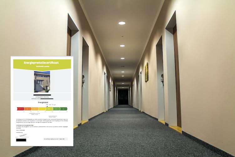 EPC gemeenschappelijke ruimtes appartement